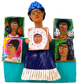 Frida Kahlo Shares Her Paintings Aguilar