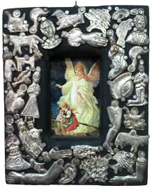 Milagro Frame with Guardian Angel Image